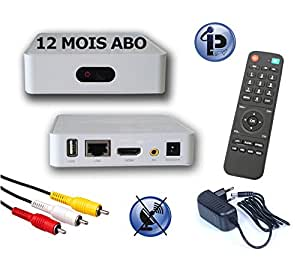 12 mois abonnement iptv bronze hd line ip box d codeur chaines iptv hd sans parabole. Black Bedroom Furniture Sets. Home Design Ideas