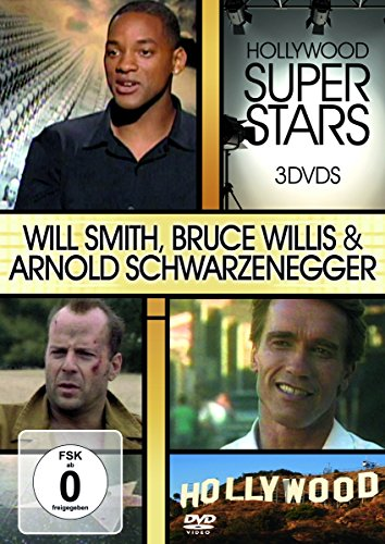 Hollywood Super Stars - Will Smith/Bruce Willis/Arnold Schwarzenegger [3 DVDs]