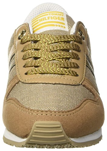 Tommy Hilfiger J3285aimie 14c1, Sneakers Basses Fille Or (Oro)