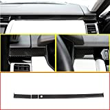 Carbon Left Drive ABS Chrome Inside Accessories Plastic Co-pilot Decorate Strips Trim Stickers For Discovery 5 LR5 2017 2018 L462