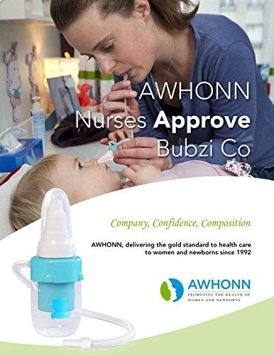 Premium Nasensauger für Baby, weiches Silikon, nicht reizend Spitze, waschbar und wiederverwendbar, keine Filter notwendig, Hospital Grade Snot Sucker für Baby Nase Verstopfung. - 8