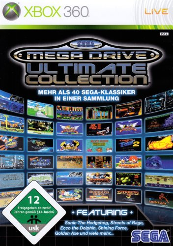 SEGA Mega Drive Ultimate Collection (Sonic The Hedgehog 2 Xbox)