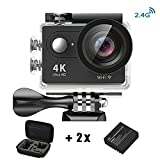 Action Kamera 4K HD Wifi Sport Kamera mit Zubehör-Kit 2.0 LCD Wifi Sport Kamera 30M 1080P 60fps...
