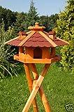 Wunderschönes Vogelhaus mit Ständer, behandelt