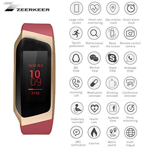 Zeerkeer Bluetooth Armband Uhr Intelligente Sport Uhr Fitnessuhr