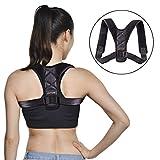 JTTVO Einstellbare Größe Geradehalter zur Haltungskorrektur Schulter Rücken Haltungsbandage für Männer und Frauen, Teenage