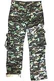 Juicy Trendz Frau Hosen Armee Militär Damen beiläufig Ladung keuchen Li Camo XL