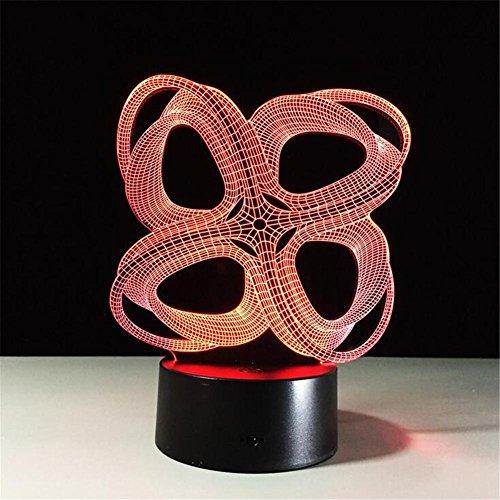 BIUODY 3D Desk Lamp da tavolo luce