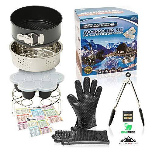 Ensemble d'accessoires pour Instant Pot- Compatible autocuiseurs...