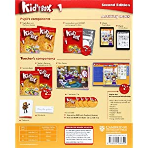Kid's Box for Spanish Speakers Level 1 Activity Book with CD-ROM and Language Portfolio Second Edition