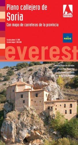 Plano callejero de Soria: Con mapa de carreteras de la provincia (Planos callejeros/serie roja)