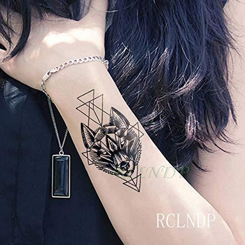 tzxdbh wasserdichte Tattoo Aufkleber Sonne Mond Tatto Tatoo Tatouage Handgelenk Fuß Hand Arm Tatoos Für Mädchen Frauen Männer Kids-in Tattoos von Gr Dunkelblau