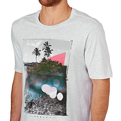 Hurley Herren T-shirt Skull Slash 06AA