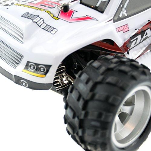 efaso WL Toys A979-B - schneller RC Monstertruck 70 km/h schnell, wendig, voll digital proportional - 2.4 GHz RC Auto mit Allradantrieb - Maßstab 1:18, hoher Fun Faktor - 4