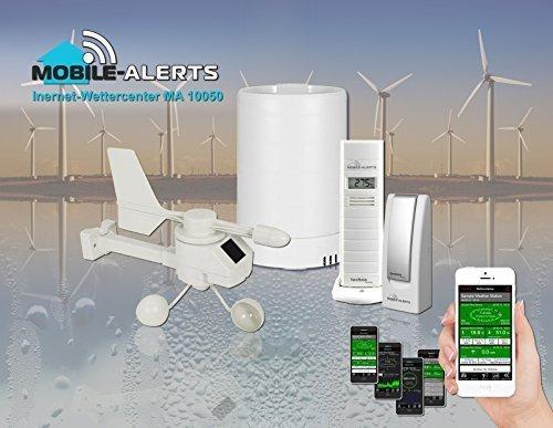 Technoline MA 10050 Wetterstation  Haus-Überwachungs-System Mobile - Alerts, 37 x 18,5 x 20,5 cm