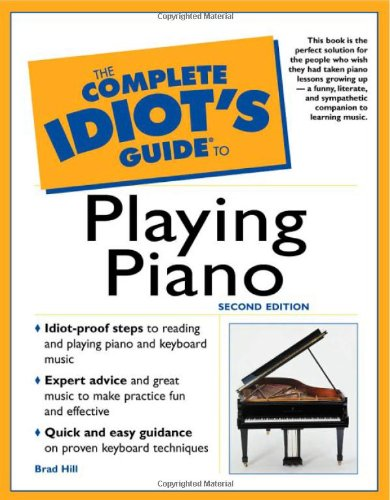 Complete Idiot's Guide to Playing Piano