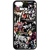 Fashion MCR My Chemical Romance Hard Snap-On Rubber Coated Cover Case for iPhone 5 / iPhone 5S