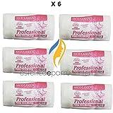 Asciugamani Monouso Professionale in Carta a Secco Goffrata 6 Confezioni da 60pz Asciugamano Estetica e Parrucchiere 40x70cm