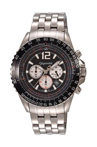 Gigandet SUPERSONIC Armbanduhr Chronograph Edelstahl G1-001