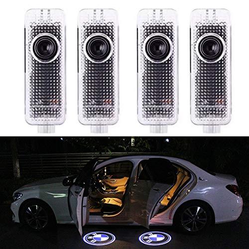 4 Stück Autotür Logo Türbeleuchtung Einstiegsleuchte Projektion Licht für E90 E91 E92 E93 M3 E60 E61 F10 F07 M5