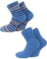 2 Paar normani® Cuddly Socks Kuschelsocken in verschiedenen Farben
