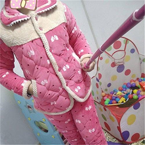 MH-RITA Tier Schlafanzug nach Pijamas Herbst Winter's Frauen Pyjama Frauen Weibliche Dame Twinset Nachtwäsche Nachtwäsche M-Xxxl Sy 594, Bug, Xxxl (Bug Kostüm Muster)