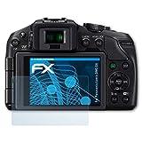 atFoliX Displayschutzfolie für Panasonic Lumix DMC-G6 Schutzfolie - 3 x FX-Clear kristallklare Folie