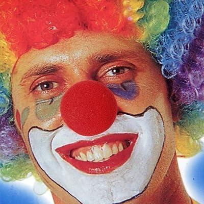 Gleader5 x Nez de Clown Rouge en Mousse pour Masquerade Deguisement Cosplay