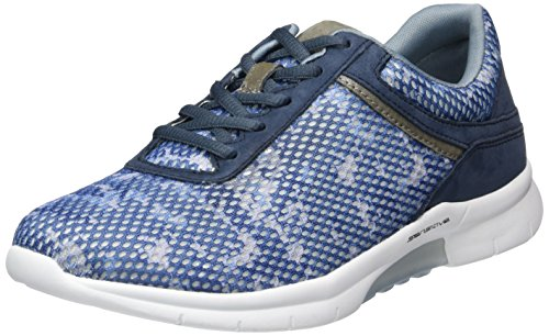 Gabor Damen Comfort Sneaker Blau (46 dark-blue k.)