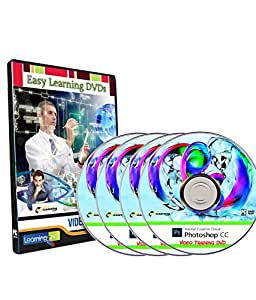 Adobe Photoshop CC 2015 Fundamentals And Advanced Level Video Training on 4 DVDs