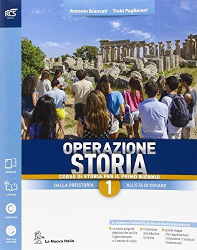 Operazione storia. Con extrakit-Openbook. Per le Scuole superiori. Con e-book. Con espansione online: 1