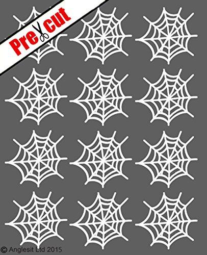 Reispapier/Wafer Papier Tasse Kuchen Topper Hochzeit Geburtstag Halloween Party Dekoration weiß ()