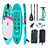 AZTRON Lunar 9.9 Inflatable Sup Stand Up Paddle Board Set Oferta, Board+Style ALU Paddel+Leash