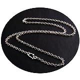 Epinki 925 Silber Herren Halskette Silberkette Herrenkette Freundschaftsketten (Nur Kette) 70CM