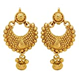 #10: YouBella Jewellery Gold Plated Fancy Party Wear Earrings for Girls and Women