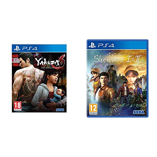 Yakuza 6: The Song of Life - After Hours Limited Edition - PlayStation 4 + Shenmue HD I & II - PlayStation 4