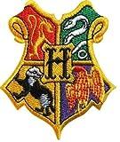 PARCHE BORDADO Harry Potter Patch Hogwarts School Crest totalmente...