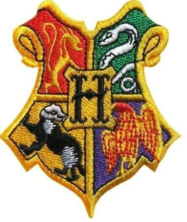 PARCHE BORDADO Harry Potter Patch Hogwarts School