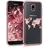 kwmobile Samsung Galaxy J5 (2017) DUOS Hülle - Handyhülle für Samsung Galaxy J5 (2017) DUOS - Handy Case in Rosegold Transparent Rosegold