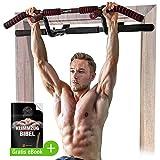 Sportstech Premium Kombi-Paket! 6in1 Klimmzugstange inkl Dip Bar & Power Ropes, Türreck für...