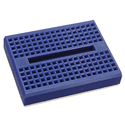 Generic 5Pcs Blue 170 Holes Mini Solderless Prototype Breadboard For Arduino One piece