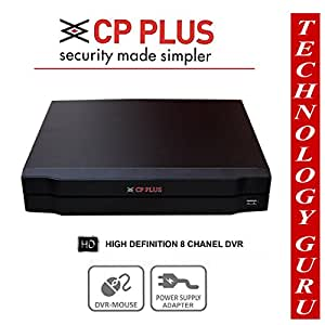 Cp Plus Coral HDCVI 8 Channel HD DVR Hybrid With Hdmi Port For Analog And HD-CVI CCTV