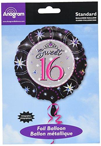 (Amscan International 18Sweet 16Folienballon)