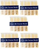 Carmichael Bb Clarinet Reeds Multi Pack Listing - 1.5, 2 & 2.5 Available - Huge Savings (2 - Box of 50)