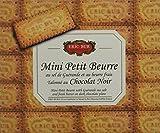 ERIC BUR Mini Petit Beurre au Sel de Guérande Talonne au Chocolat Noir 130 g