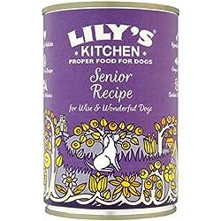 Lily's Kitchen Senior Rezept für ältere Hunde 400g Jede Dose (Pack von 3)
