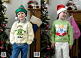 King Cole DK Knitting Pattern - 3807 Christmas Sweaters