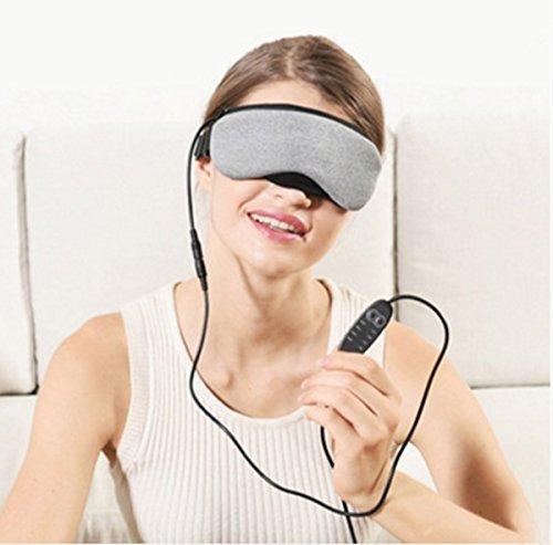 szsydesign Hitze Dampf Augenmaske USB schwarz Rand der Eye Tasche weiblich Sleep Wärme Patch (ohne Duft) -