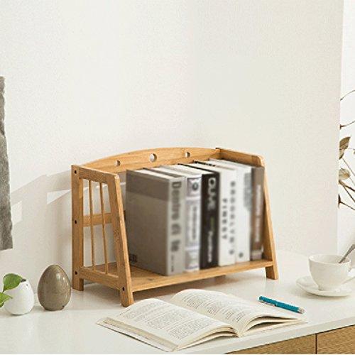 Libreria BSNOWF Estantería Bamboo Multifunction Shelf