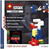 Light Stax Creative Set (4-in-1) Konstruktionsspielzeug, 50 Bausteine